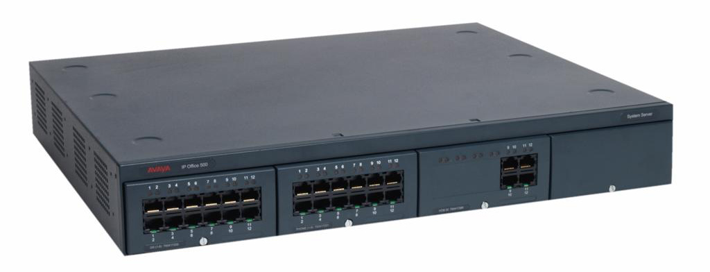AVAYA IP406 базовый блок V2 Office - 6 exp ports б/у фото