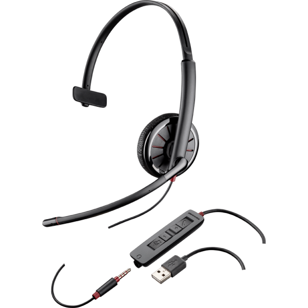 Plantronics BlackWire C315.1-M - гарнитура USB/jack 3.5 MS Lync