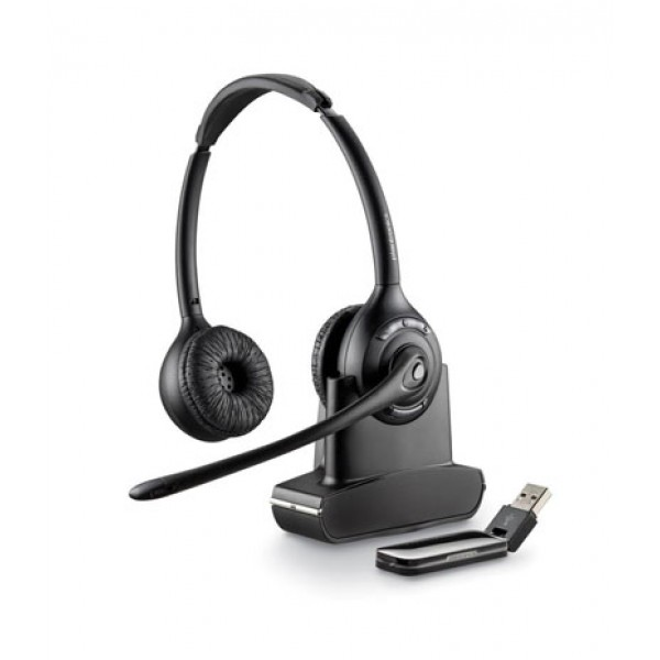 Plantronics Savi W420 (Over-the-head) — беспроводная DECT гарнитура для компьютера