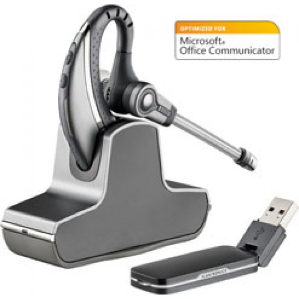Plantronics Savi W430M — беспроводная DECT гарнитура для компьютера, оптимизирована для Microsoft Office Communicator и Lync